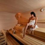 ArtHotel Frau in der Sauna